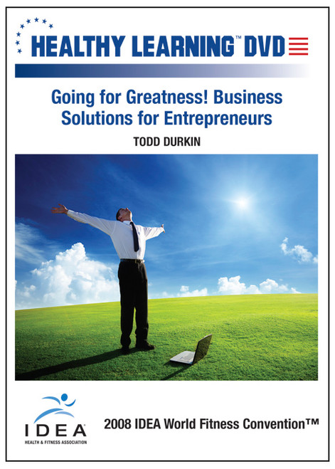 Going for Greatness! Business Solutions for Entrepreneurs