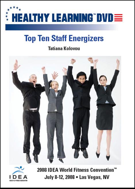 Top Ten Staff Energizers