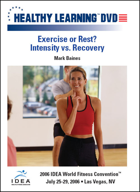 Exercise or Rest? Intensity vs. Recovery