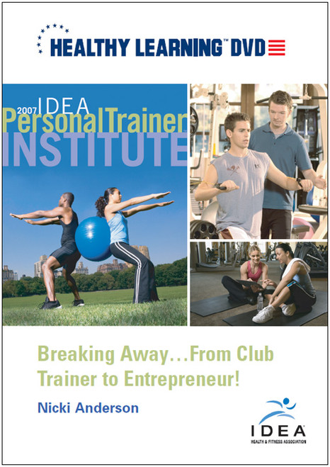 Breaking Away...From Club Trainer to Entrepreneur!