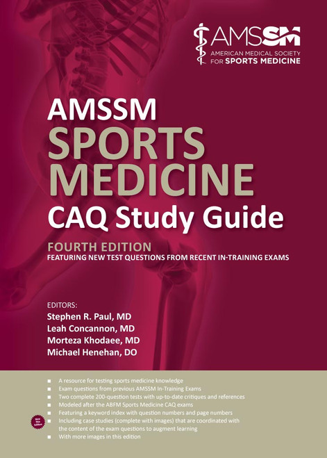 AMMSM Sports Medicine CAQ Study Guide (4th Edition)-Epub
