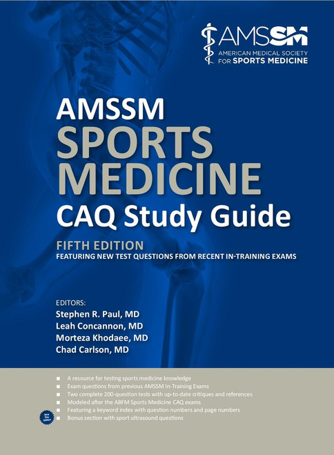 AMSSM Sports Medicine CAQ Study Guide (Fifth Edition)-Epub