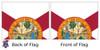 Florida 4x6 Feet Nylon State Flag Made in USA