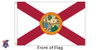 Florida 5x8 Feet Nylon State Flag Made in USA