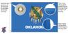 Oklahoma 5x8 Feet Nylon State Flag Made in USA