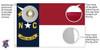 North Carolina 6x10 Feet Nylon State Flag Made in USA