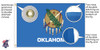 Oklahoma 6x10 Feet Nylon State Flag Made in USA