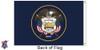 Utah 6x10 Feet Nylon State Flag Made in USA