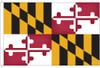 Maryland 8'x12' Nylon State Flag 8ftx12ft