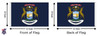Michigan 8x12 Feet Nylon State Flag Made in USA
