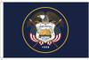 Utah 8'x12' Nylon State Flag 8ftx12ft