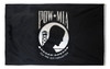 POW MIA Perma-Nyl 4x6 Feet Nylon Double Seal Flag By Valley Forge Flag
