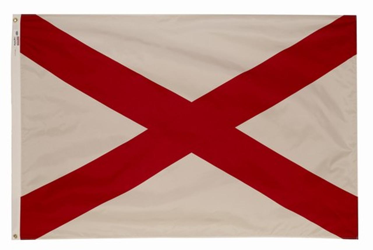 Alabama flag 2ft x 3ft Nylon