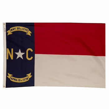 North Carolina State Flag 3x5 Feet Spectramax Nylon by Valley Forge Flag 35232330