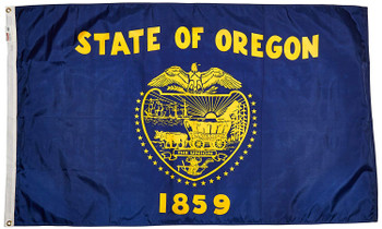 Oregon State Flag 3x5 Feet Spectramax Nylon by Valley Forge Flag 35232370