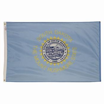 South Dakota State Flag 3x5 Feet Spectramax Nylon by Valley Forge Flag 35232410