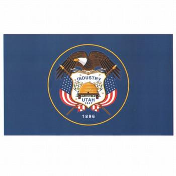 Utah State Flag 3x5 Feet Spectramax Nylon by Valley Forge Flag 35232440