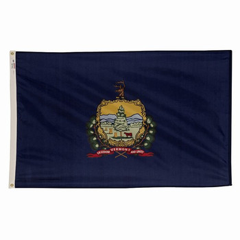 Vermont State Flag 3x5 Feet Spectramax Nylon by Valley Forge Flag 35232450