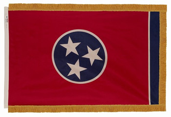 Tennessee State Flag 4x6 Feet Indoor Spectramax Nylon by Valley Forge Flag 46242420