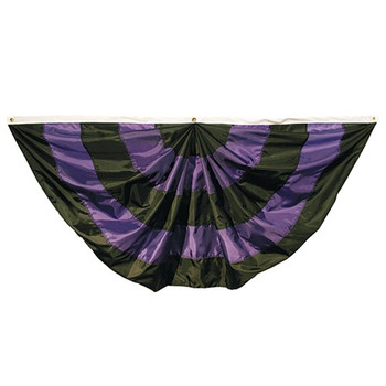 Mourning Fan 3x6 Feet Nylon by Valley Forge Flag MC3X6NMOR1