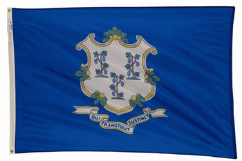 Connecticut State Flag 4x6 Feet Spectramax Nylon by Valley Forge Flag 46232070