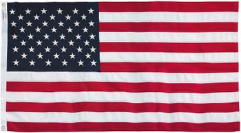 6x10 Feet Polyester US Flag By America's Flag Company 60311000II-R