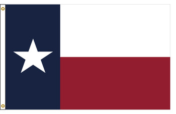 Texas 3'x5' Nylon State Flag 3ftx5ft