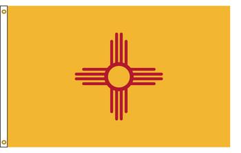 New Mexico 4'x6' Nylon State Flag 4ftx6ft