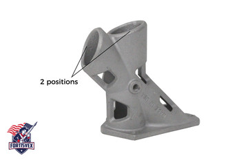 "1.25"" 2 Position 1-1/4 Inch Aluminum Flagpole Bracket With Hardware"