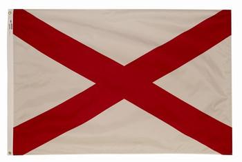 Spectramax 2'x3' Nylon Alabama Flag
