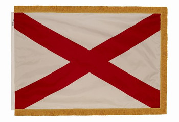 Spectramax 4'x6' Nylon Indoor Alabama Flag