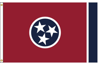 Tennessee 5'x8' Nylon State Flag 5ftx8ft
