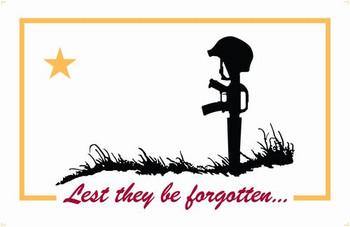 3'x5' Nylon Flag For The Fallen