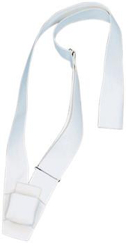 Single Strap White Web Carrying Belt With Pole Pocket