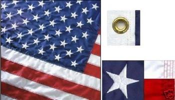 Perma-Nyl 3'x5' Nylon U.S. Flag By Valley Forge Flag