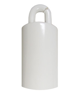 Flagpole Counterweight 3.5 LBS White 3-1/2 Inch (360313)