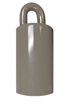 Flagpole Counterweight 3.5 LBS Silver 3-1/2 Inch (360316)