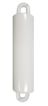 """Flagpole Counterweight 7 LBS White 7"""" Inch (360314)"""