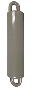 """Flagpole Counterweight 7 LBS Silver 7"""" Inch (360317-1)"""