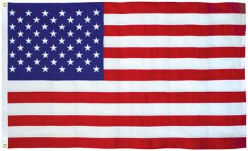 American Flag Made in USA (Nylon, 2.5x4 Feet / 30x48 Inches)
