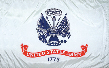 US Army 4ftx6ft Nylon Flag
