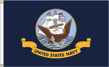 US Navy 6ftx10ft Nylon Flag