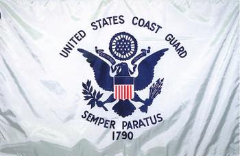 US Coast Guard 5ftx8ft Nylon Flag