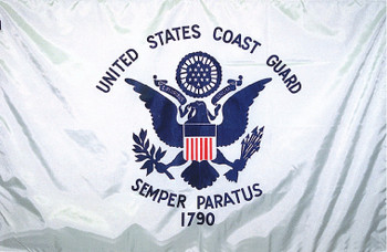 US Coast Guard 8ftx12ft Nylon Flag