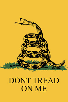 Gadsden Dont Tread On Me Garden Flag