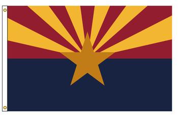 Arizona 6'x10' Nylon State Flag 6ftx10ft