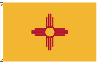 New Mexico 6'x10' Nylon State Flag 6ftx10ft