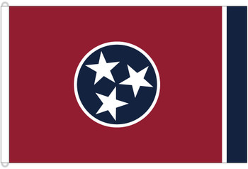 Tennessee 8'x12' Nylon State Flag 8ftx12ft