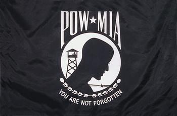 POW MIA Double Sided 6ftx10ft