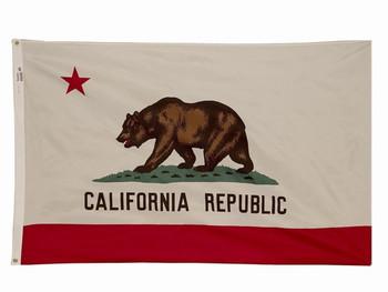 3'x5' Nylon California Flag